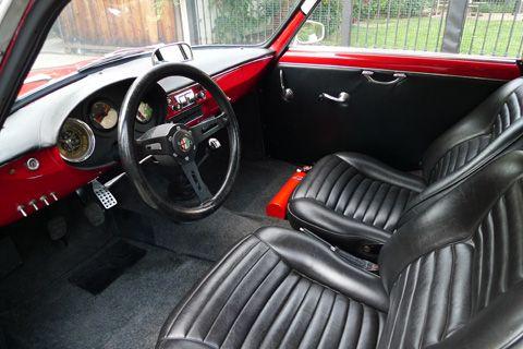 1960 Alfa Romeo Giulietta Sprint Vintage Race Car For Sale Interior ...