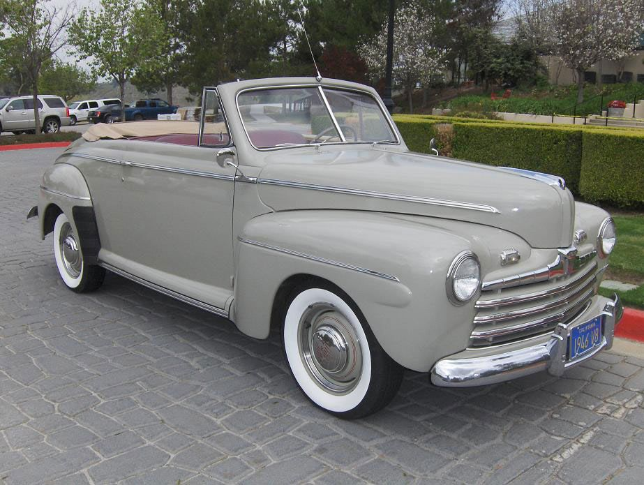 1946 ford super deluxe convertible ford 1940 1946. Black Bedroom Furniture Sets. Home Design Ideas