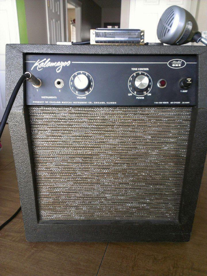 My new amp! Kalamazoo model one 5 watts of class A tube