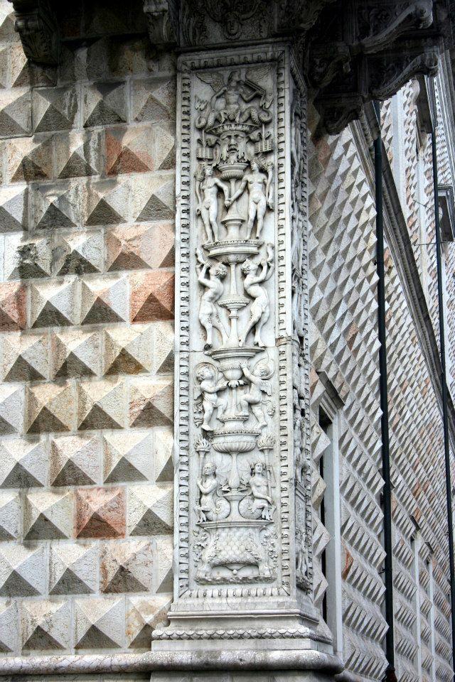 Palazzo dei Diamanti, angolo con Corso Ercole I d'Este  Pinacoteca Nazionale di Ferrara