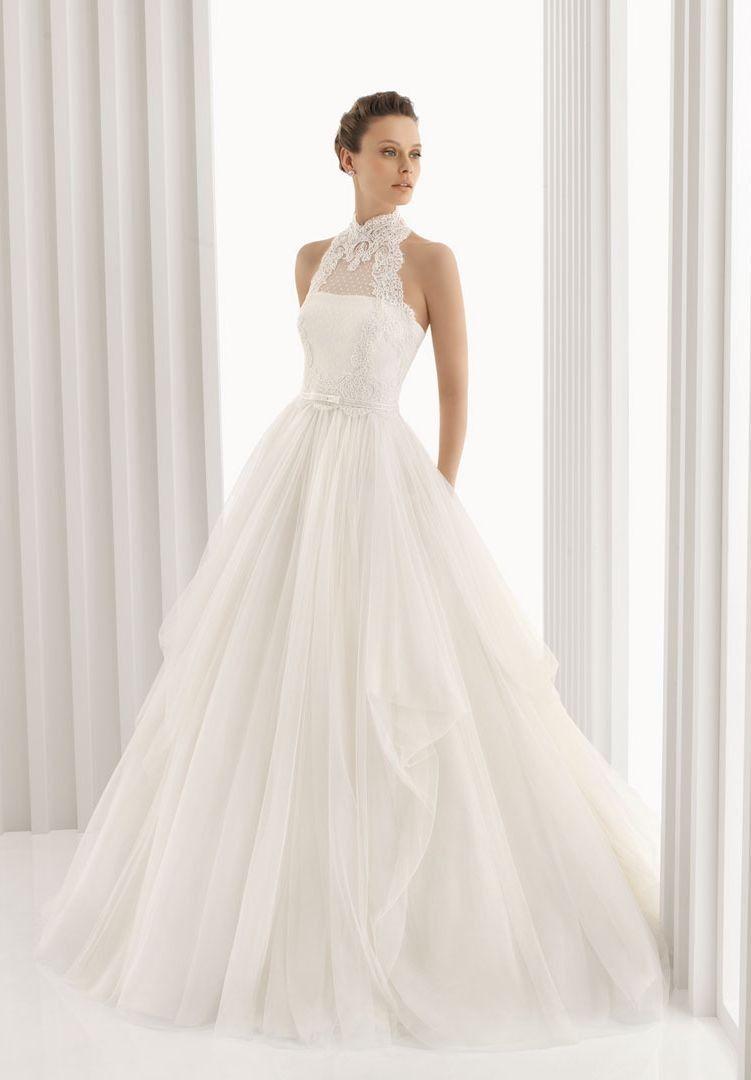 Love the mini polka dots | 2013 Designer Elegant Lace Wedding ...