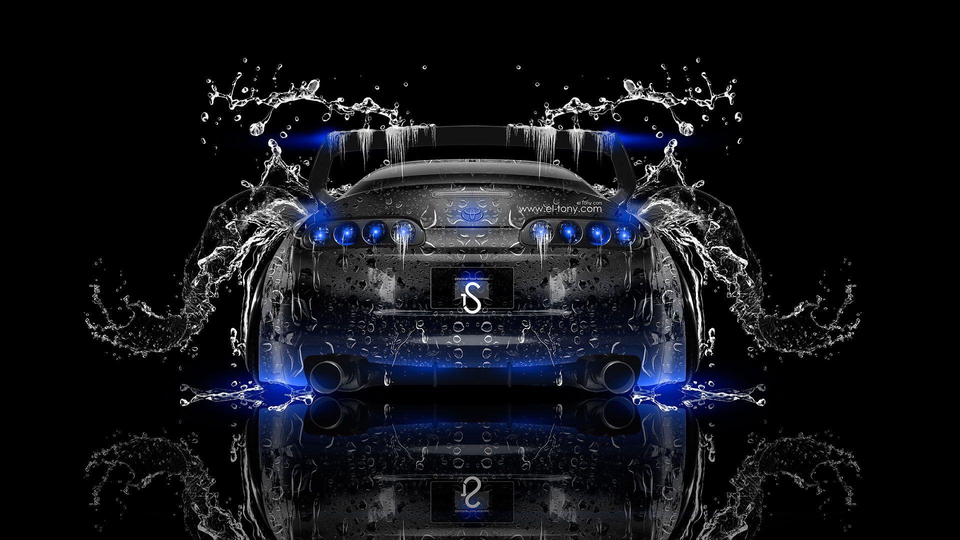 Amazing Toyota Supra JDM Back Water Car 2014 HD