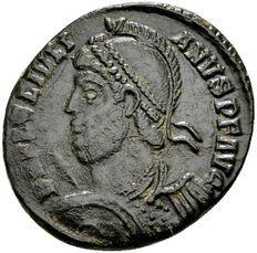 Romeinse Rijk  - AE3 van keizer Julianus II 360-363, AE3 geslagen in Constantinopolis