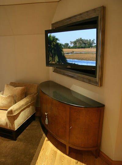 Motorized TV Mount Angles Primetime Just So | Motorized tv mount