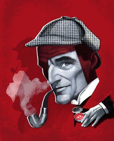 100 Ejemplares Firmados Y Numerados Estampación Digital De Alta Calidad Sobre Papel Hahnemühle German Etching De 3 Escarlata Libros Ilustrados Sherlock Holmes