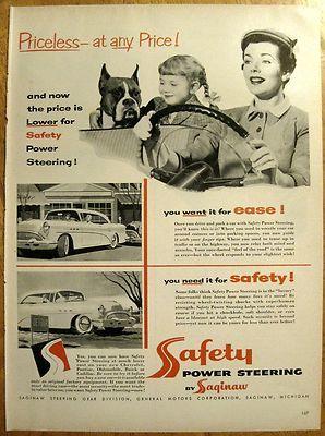 1954 Buick Saginaw Power Steering