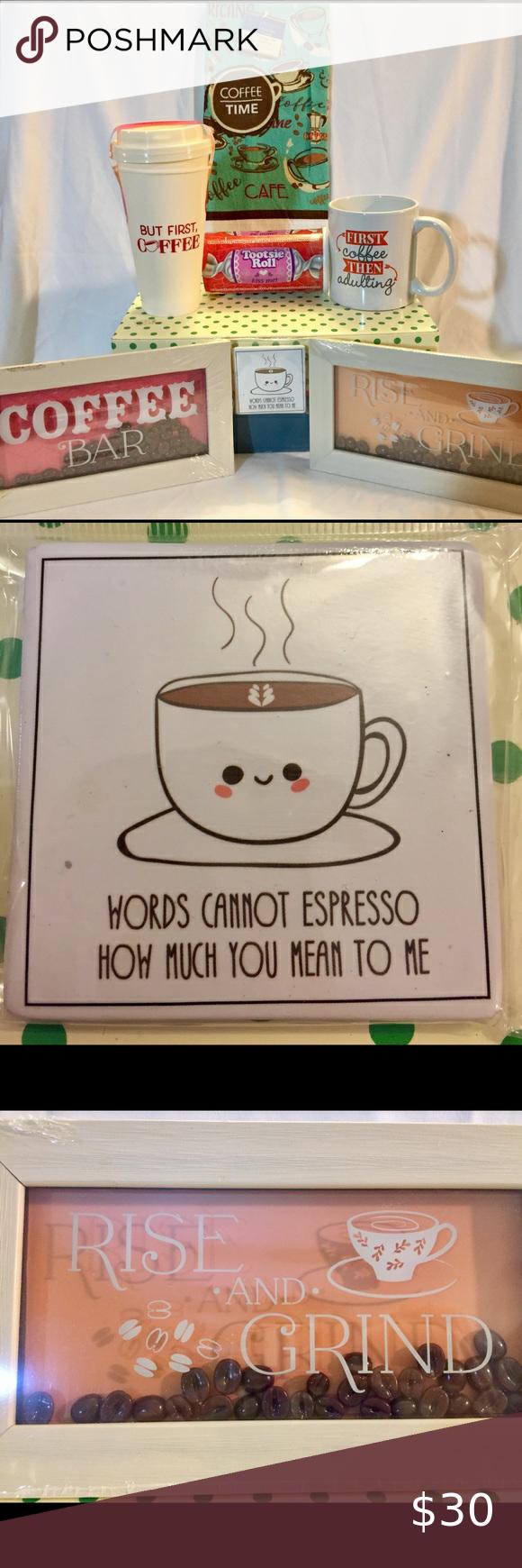 "Rise and Grind Gift Set Rise and Grind Gift Set   Includes: ""Coffee Bar"" and... - #coffee #grind #includes - #CoffeeBeans"