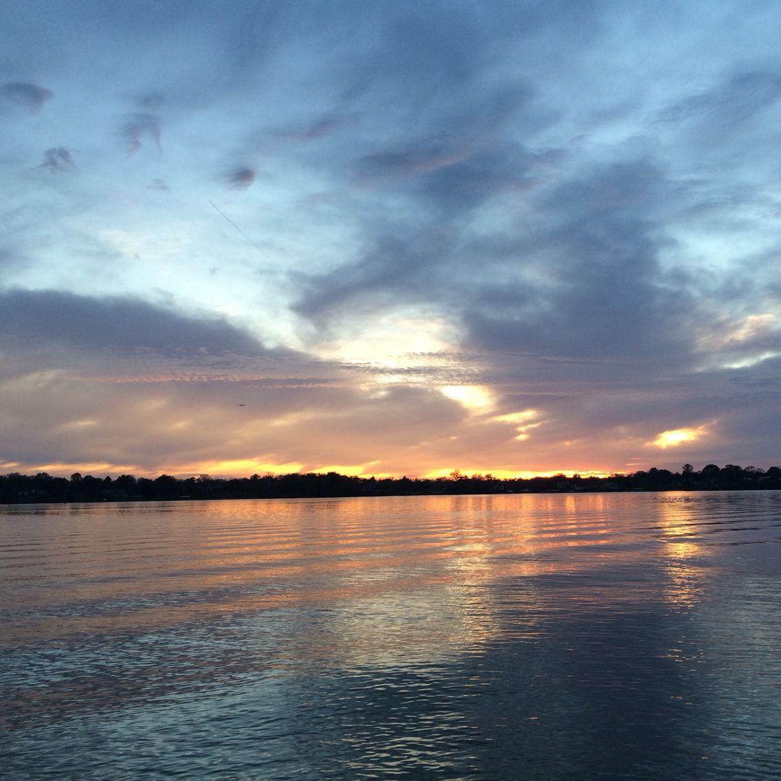 sunset on old hickory lake in hendersonville tn lake life rh pinterest com