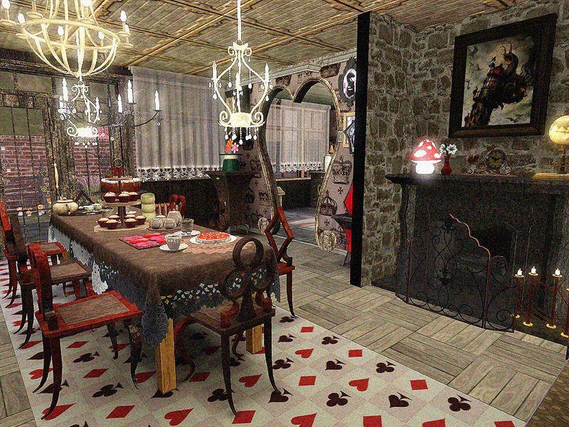 My Sims 3 Blog Doty Round 2 Alice In Wonderland Kitchen