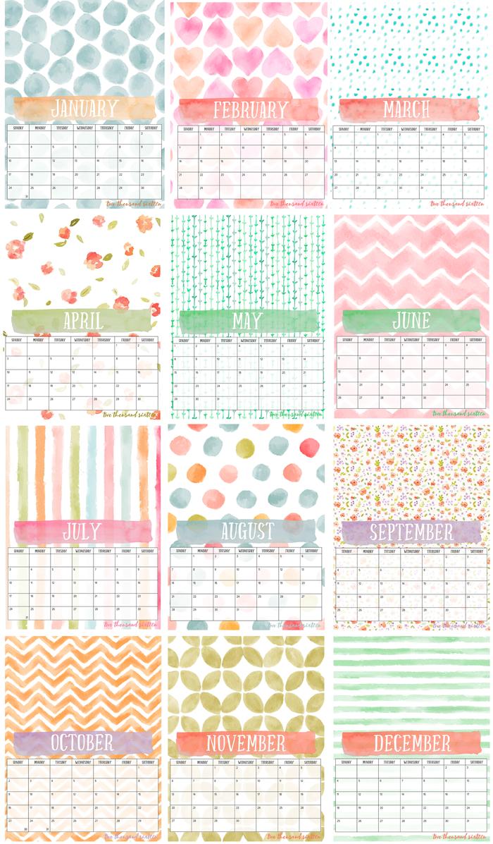 free printable photo calendar and diy display board bloggers best