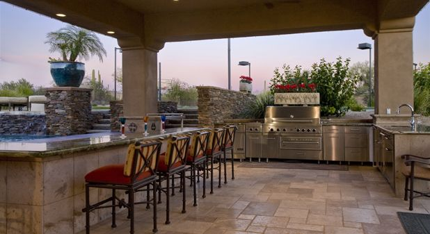 Viking Outdoor Kitchen Style Ideas Kitchens Cool Bbq Set Up For The Home Pinterest