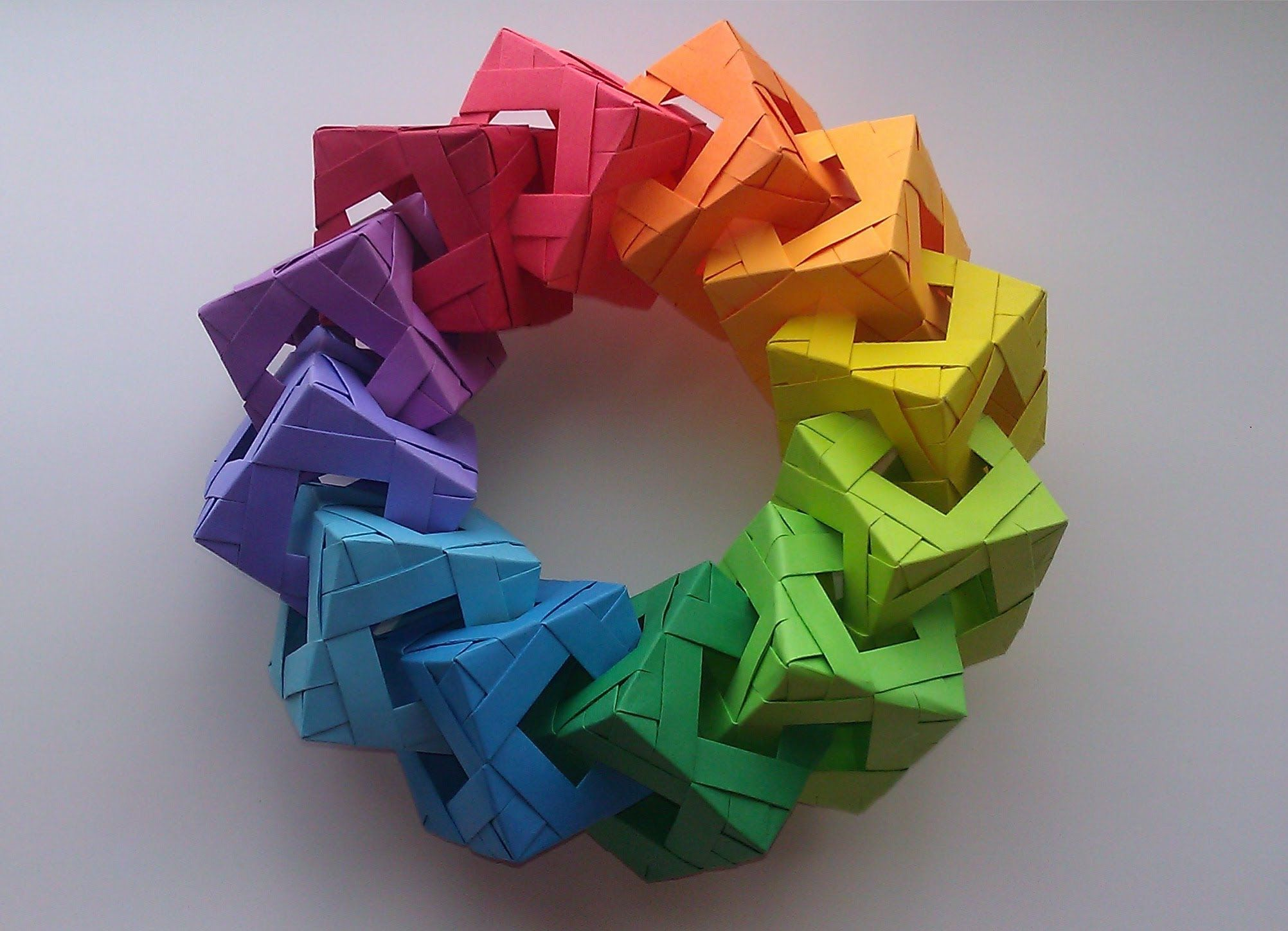 How to Fold Origami Paper Cubes - Frugal Fun For Boys and Girls | 1448x2004