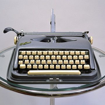 Cole Steel 3 Typewriter (originally made by ABC Typewriter Co.) by Kasbah Moderne