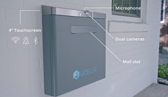 uCella is the smartest package & delivery mailbox always