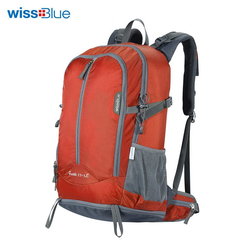 46cdd89de8 WissBlue 40L Camping Hiking Backpack Travel Rucksack climbing Sports Bag  waterproof outdoor Equipment for Men and