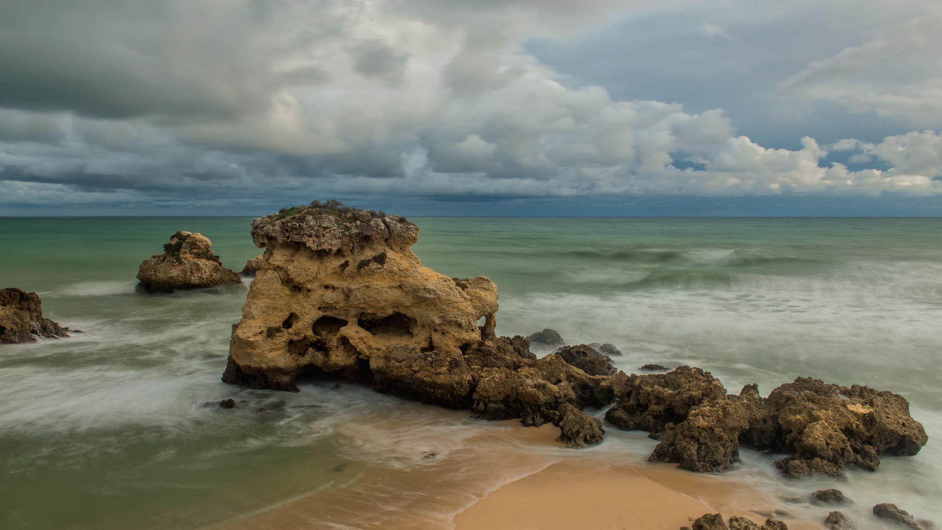 Lluvia  en  el Atlántico  (Portugal)