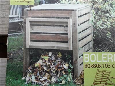 Compostbak hout bij Ecoflora
