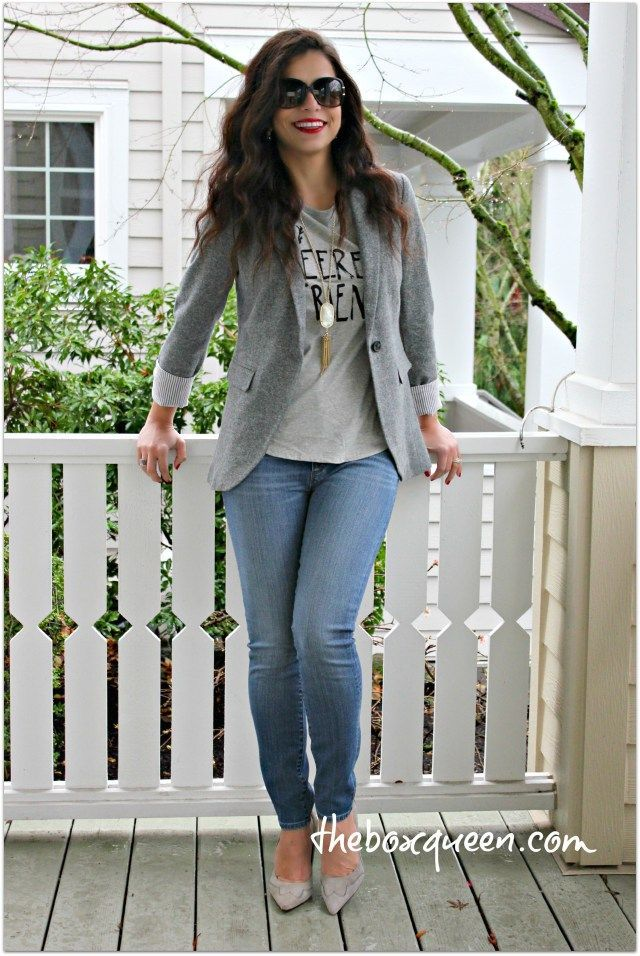 96221c74e29 HOW TO PUT TOGETHER A CASUAL BLAZER OUTFIT