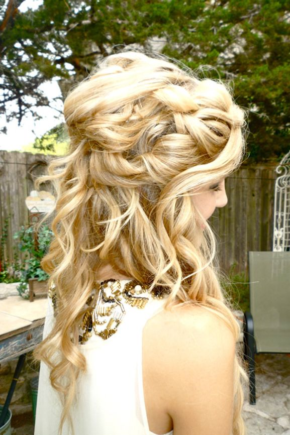 O2l Preferences Imagines Your Prom Dress And Hair Prom Hair Medium Prom Hair Updo Tumblr Hair