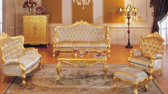 Wohnzimmerdesignideen Barockes Wohnzimmer