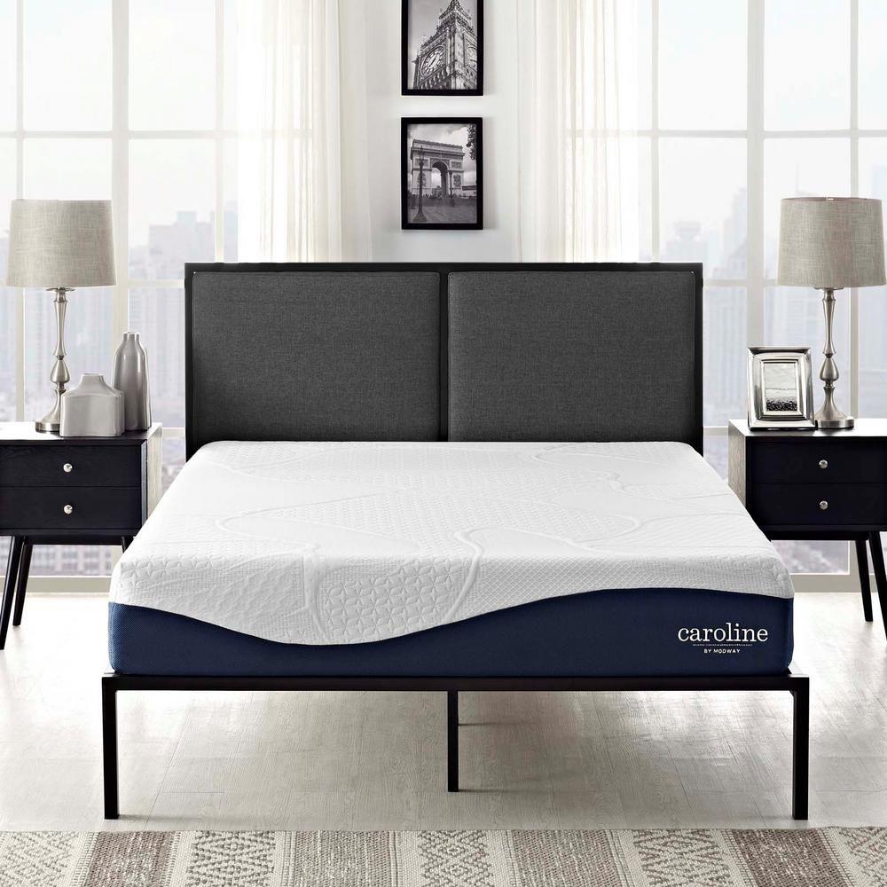 modway caroline 10 in queen memory foam mattress products queen rh pinterest com