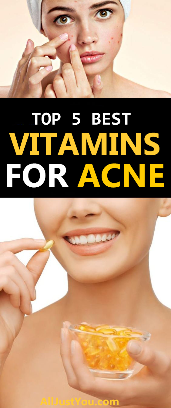 Beauty Acne Vitamins Vitamin A Acne Skin Care