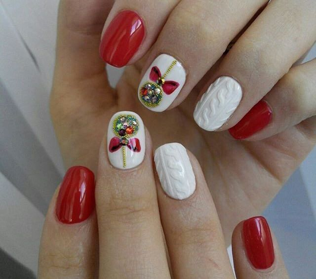 Christmas Toe Nail Art Tutorial: Pin By Bethany Kirkpatrick On Christmas Nails