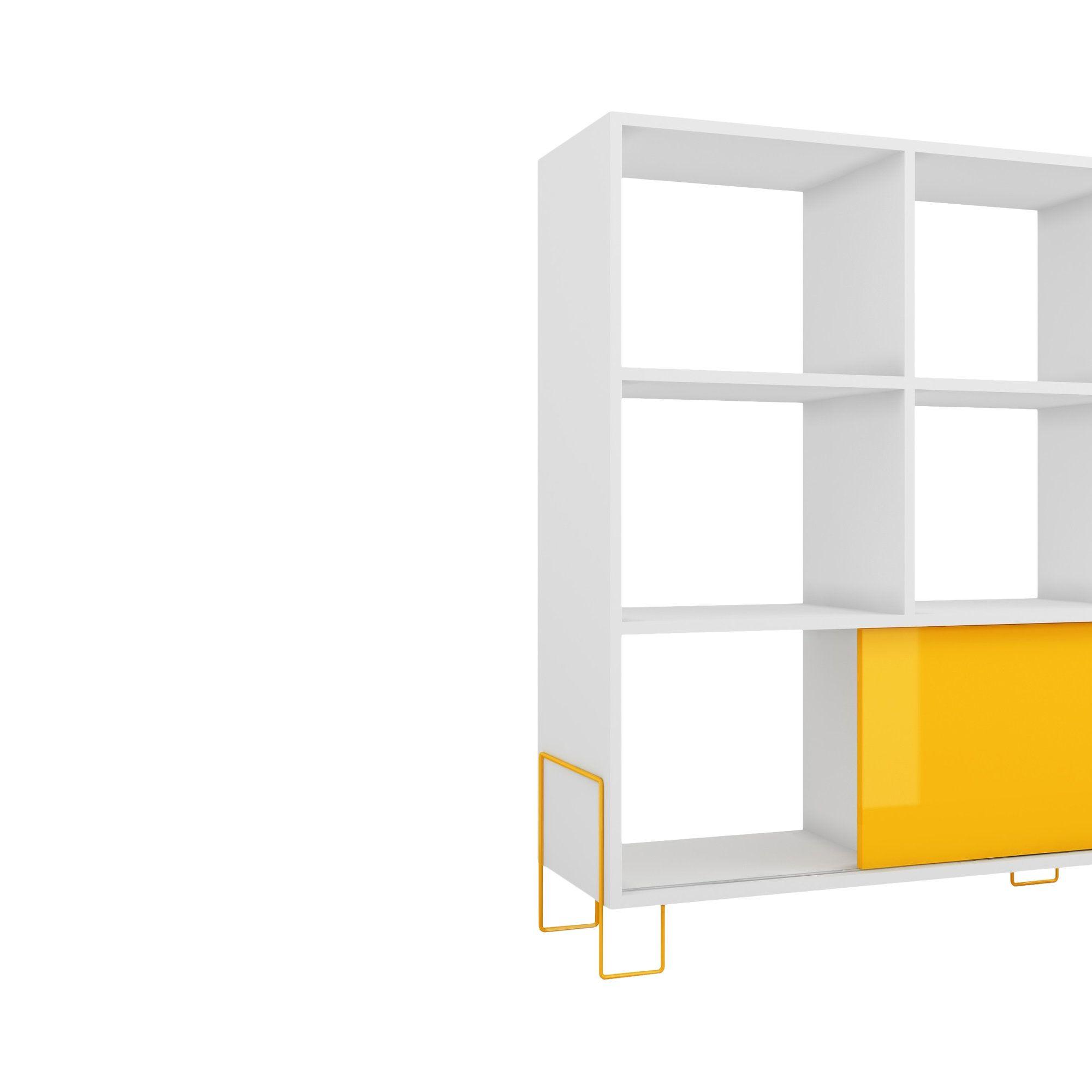 erica 39 cube unit bookcase products white shelves modern rh pinterest com