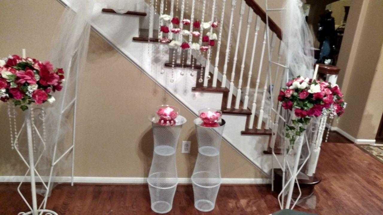 diy dollar tree wedding pedestals youtube centerpieces and rh pinterest com