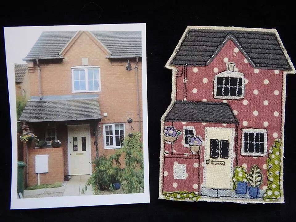 House potrait magnets...like ;)