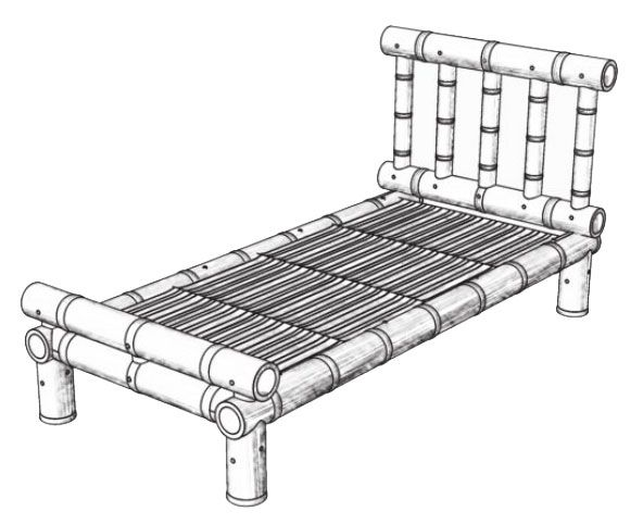 Best How To Make A Bamboo Bed Bamboo Furniture Bamboo Bed 400 x 300