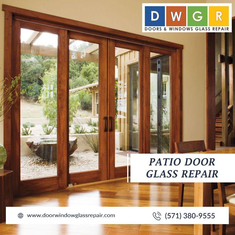 Patio Door Glass Repair #glassrepair
