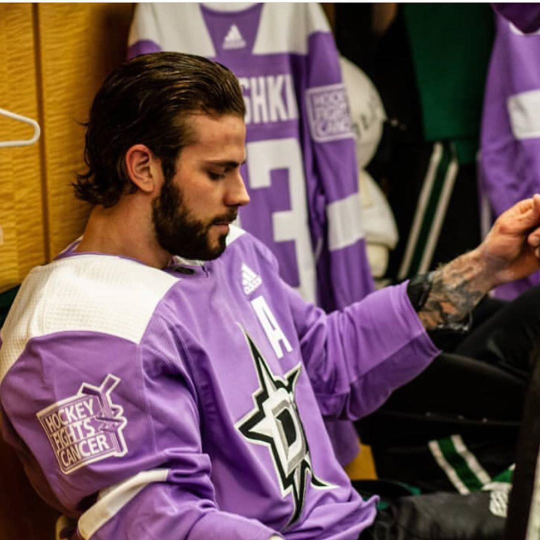 Hockeyfightscancer Was One Of The Best Hockey Games I Ve Ever Gone To It S So Great Seeing So Many Come Together For The Fight Against Tyler Seguin