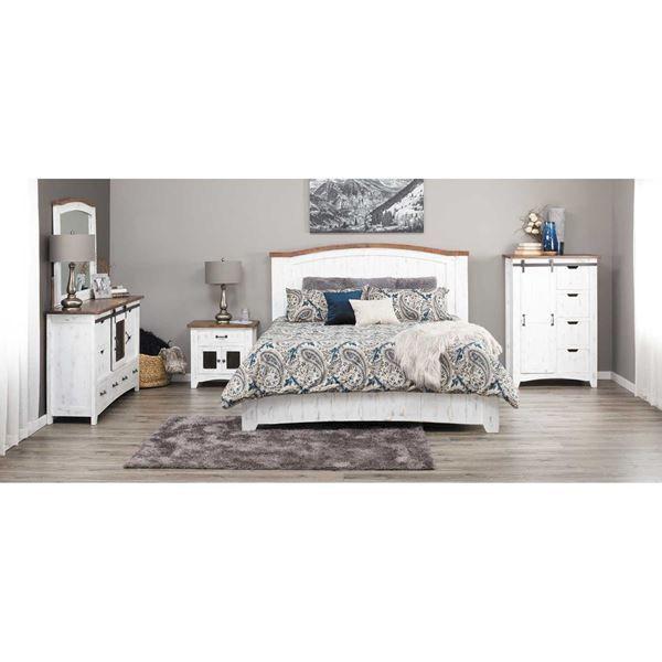 pueblo white 5 piece bedroom set new master bed bath white rh pinterest com