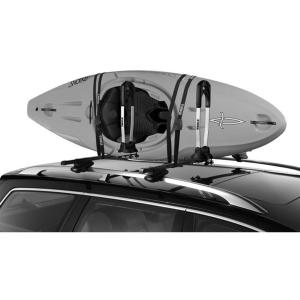 Thule Stacker Kayak Carrier In 2020 Kayak Rack For Car White Water Kayak Kayak Fishing Diy