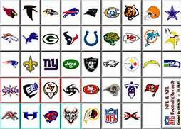 nfl team logos clip art - Bing Images | Football team names