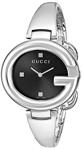 "awesome Gucci Women's YA134301 ""Guccissima"" Stainless Steel Watch"