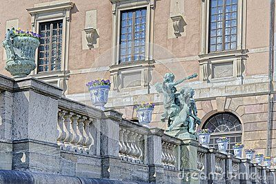 Stockholm Palace Details - Download From Over 34 Million High Quality Stock Photos, Images, Vectors. Sign up for FREE today. Image: 56652399
