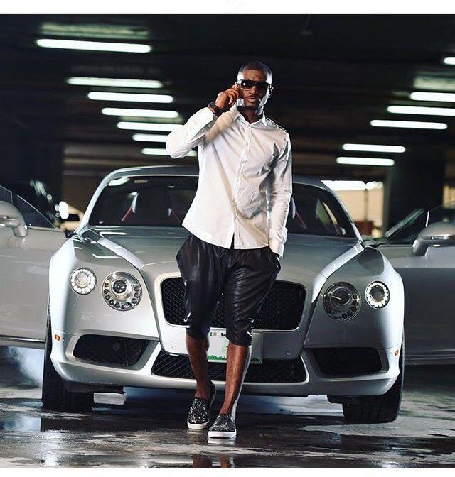 Peter Okoye signs endorsement deal with KIA Motors (See Photos)