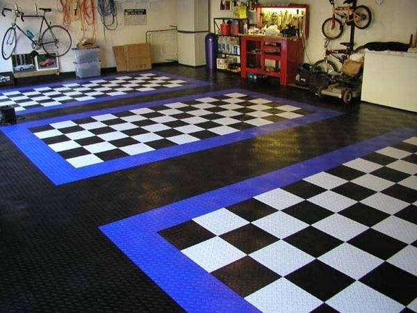 Tiles Modular Garage Flooring
