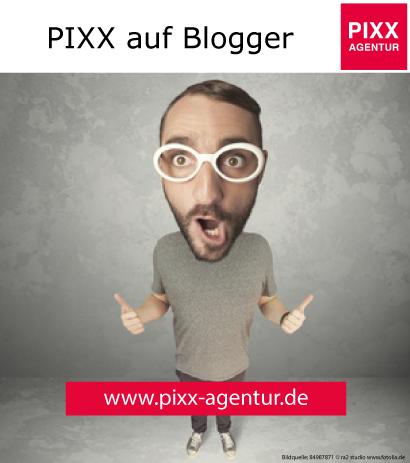 Wir sind auch auf Blogger vertreten! Folgen Sie uns: http://pixxomania.blogspot.de/ PIXX Agentur Kontaktdaten: Web: www.pixx-agentur.de Mail: info@pixx-agentur.de Tel: 0721-5307532