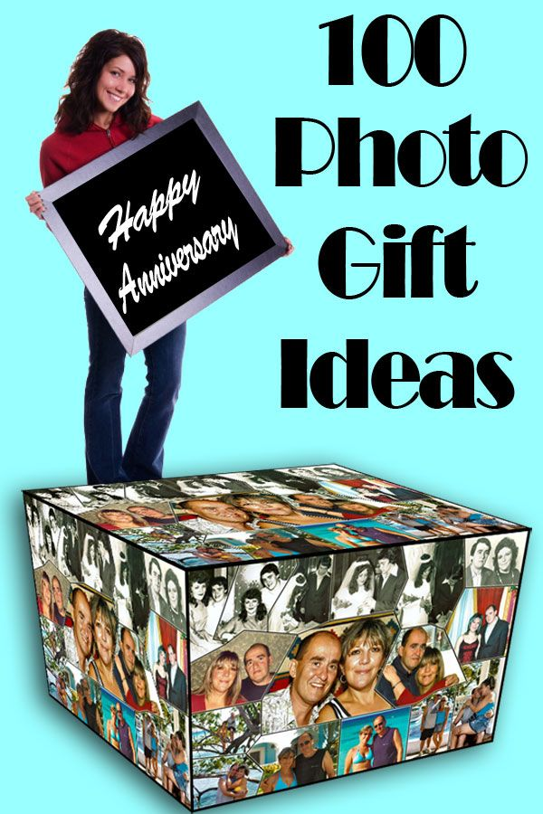 100 DIY photo gift ideas for Mom & Dad, Wife & Husband