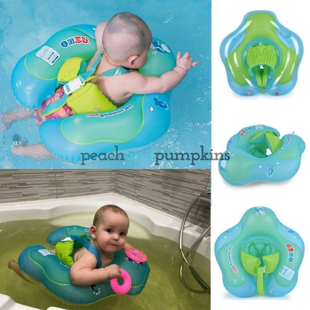 OzFloat Baby Swimming Float Ring – Swim Trainer