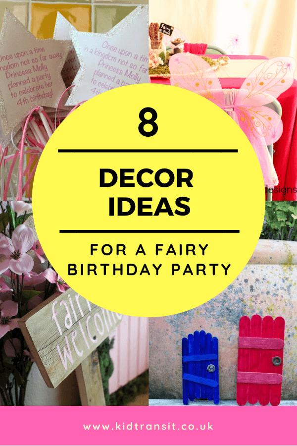 Pin On Fairy Theme First Birthday Party Ideas