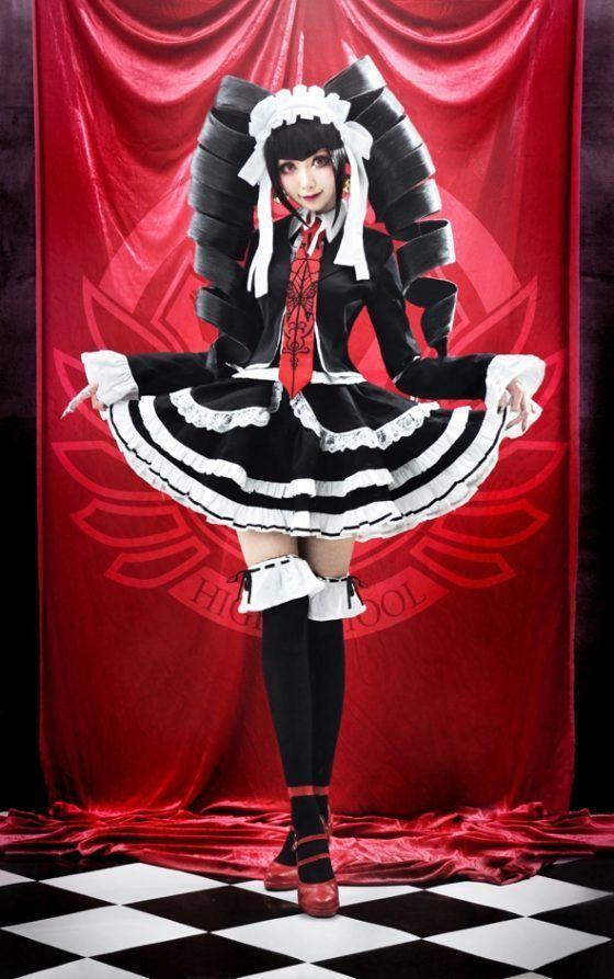 Photo of danganronpa cosplay Celestia Ludenberg01