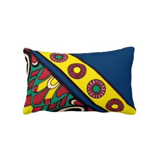 Decorative Assyrian Design Pillow