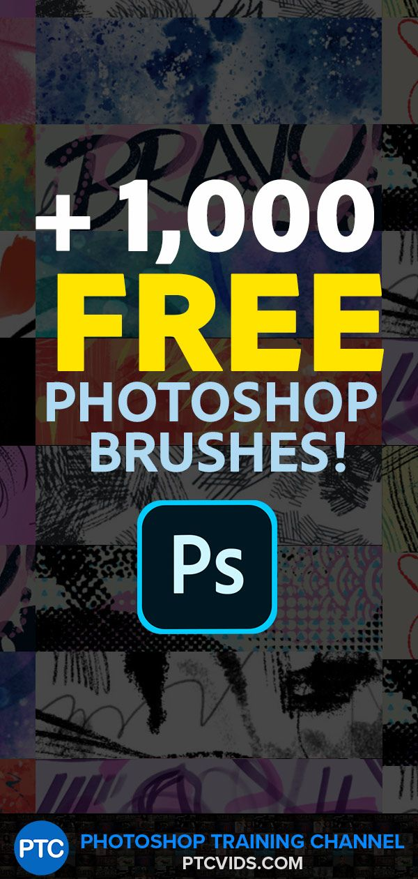 Looking for the perfect brush sets? You don't need to sift through the Google search results because you can find the vast collection of more than 1,000 FREE high-quality Photoshop brushes in the application itself!