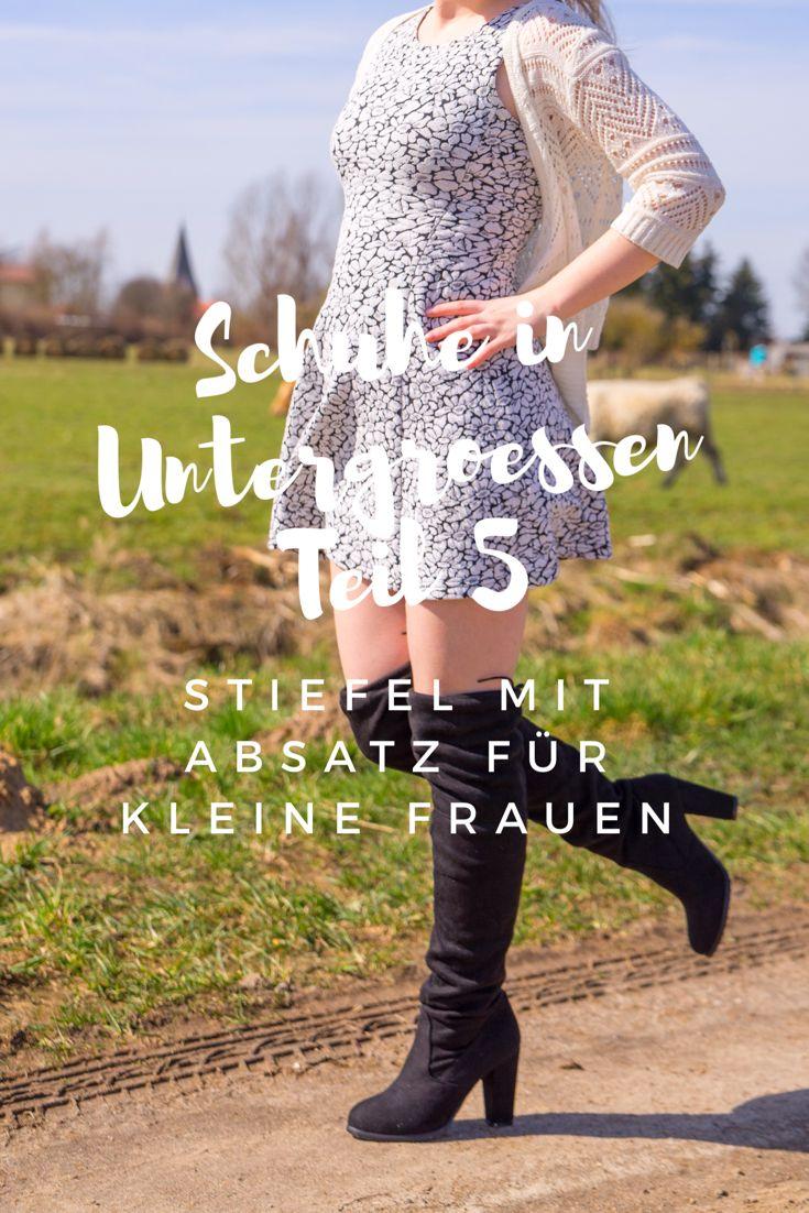 innovative design 1fd95 ee43a Schuhe in Untergrößen Teil 5 - Stiefel mit Absatz für kleine ...