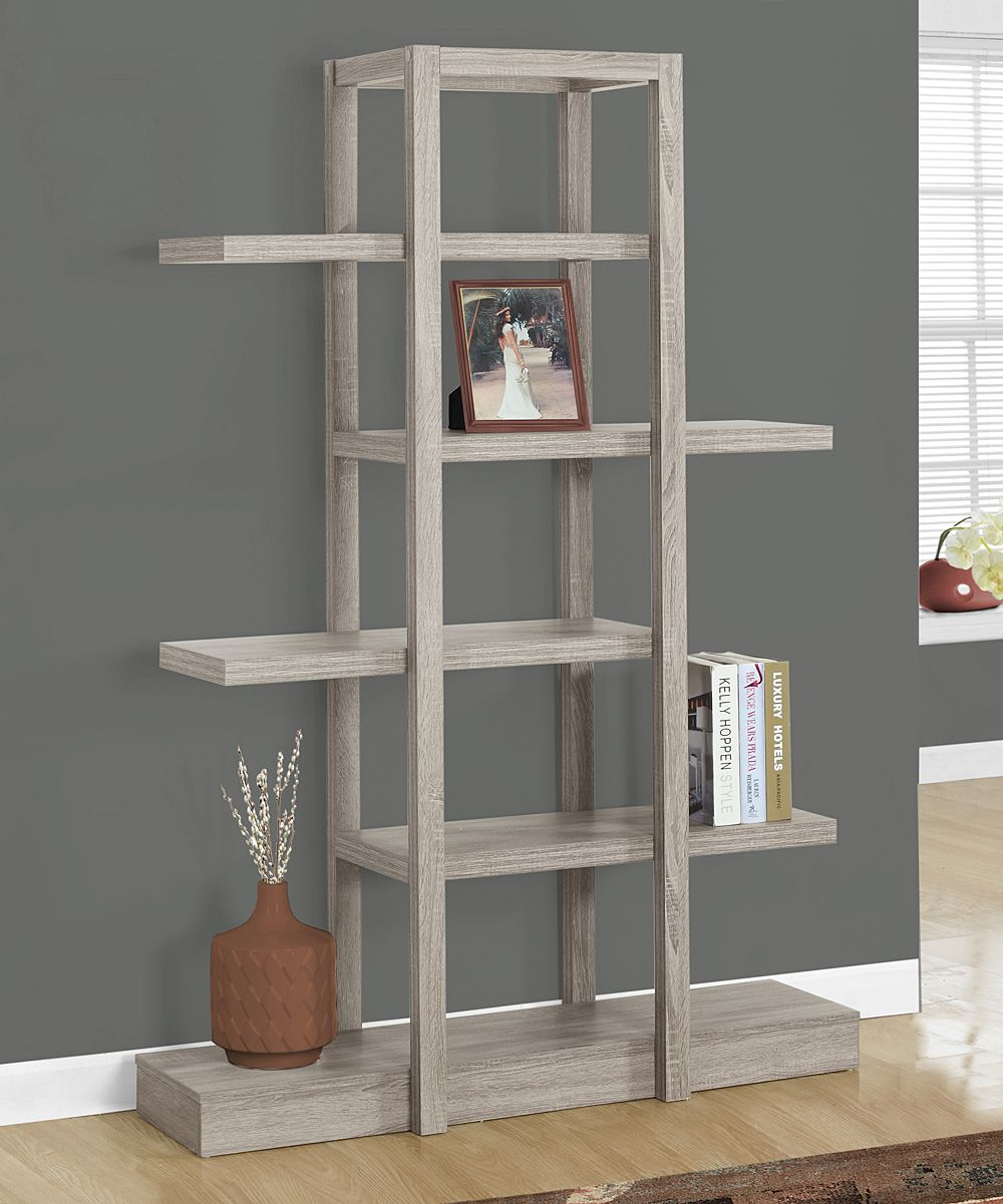 dark taupe open concept tag re products etagere bookcase open rh pinterest com