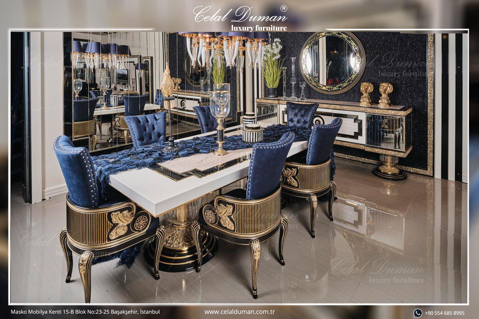 Luxury ürün gruplarımıza hayat veren şık ve zarif konulu Yemek Odası modellerimiz için Masko mağazamıza sizleri davet ediyoruz. . . . #celalduman #celaldumanmobilya #mobilya #masko #koltuktakımı #yemekodası #maskomobilyakenti #evdekorasyon #dekorasyonfikirleri #mobilyadekorasyon #luxuryfurniture #modernfurniture #furniture #decor #ofisdekorasyon #evdekor #projects #köşekoltuk #tvunited #design #yemekodası #yatakodası #interiordesign